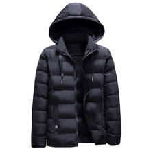 e881f80098f 2018 fashion winter jacket men casual business thick velvet parka men warm  hooded coat classical outwear