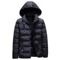 2019 fashion winter jacket men casual business thick velvet parka men warm hooded coat classical outwear parkas hombre jaqueta