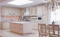 european style kitchen cabinets(LH SW050)