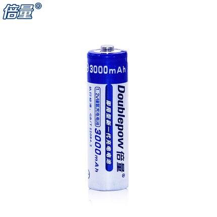 4 Uds. Batería NiMH Doublepow, AA 3000 mAh, 1,2 V, batería recargable, ratón coche juguete Cámara KTV micrófono flash