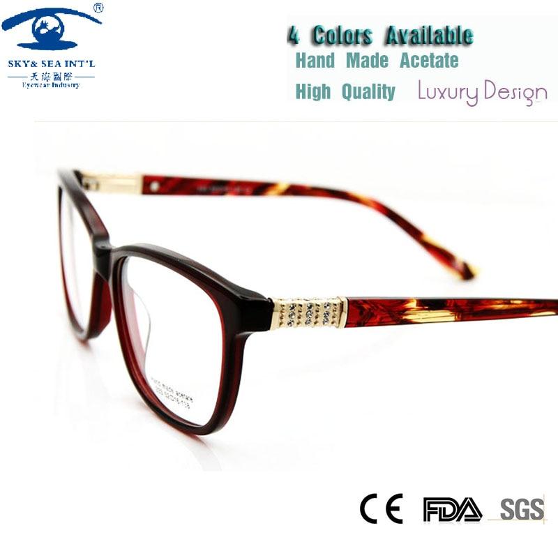 5PCS/LOT)Wholesale Eyeglasses Frames Women Luxury Brand Designer ...