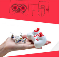 F15316 HUBSAN Q4 H111 Mini Quadrocopter RTF 2 4G 4CH Remote Control Toys Gift RC Helicopter