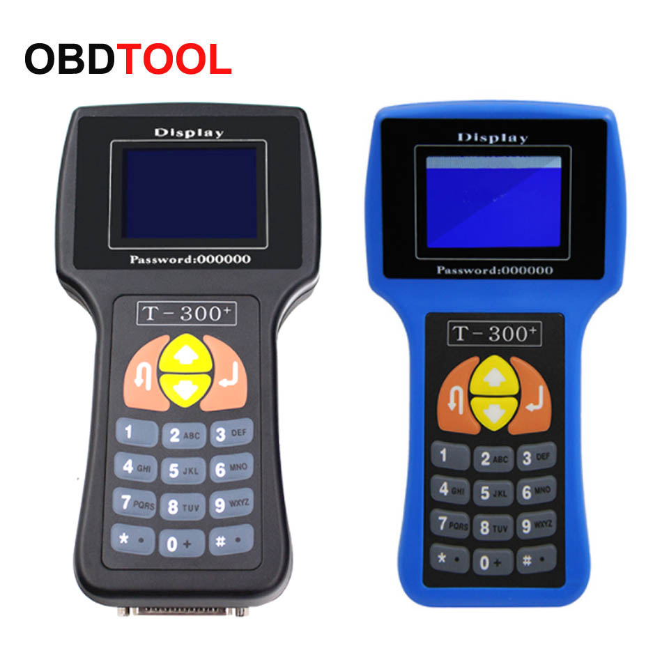 New V17.8 T300 AD100 Key Programmer Key Matches English / Spanish T Code T 300 Support Multi Brand Cars Transponder Machine