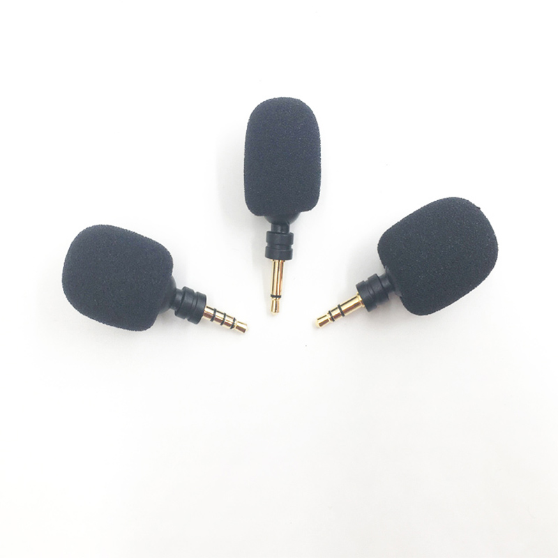 3.5mm Mono/ Stereo/ 4 Pole Mini Microphone Flexural Bendable Microphone for Mobile Phone Computer Recording Device