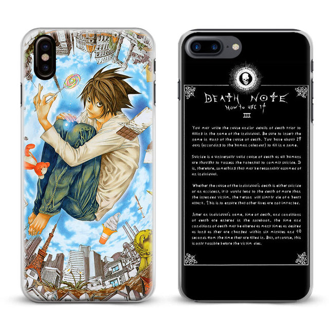 coque iphone x death note