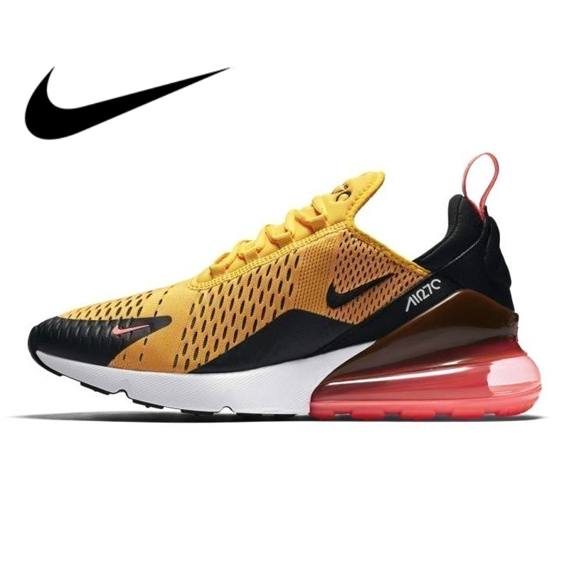 buy popular 1d516 0066c Original authentic NIKE Air Max 270 men's running shoes full color classic  outdoor sports shoes comfortable breathableAH8050-006