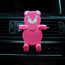E-FOUR Car Silica Gel Phone Protect Holder 2018 New Fashion Style Accessory Air Vent Clip Stand GPS Adjustable Phones
