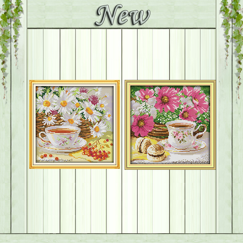 Arts,crafts & Sewing Package Beautiful Leisurely Afternoon Girl In Garden Figure Counted Cross Stitch Kits Chinese Cross Stitching Set For Embroidery Diy Needlework Latest Technology