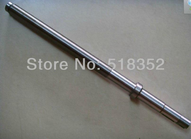 ФОТО L325mm Screw Rod with Brass Feed Screw Nut  M18x 1mm Tooth Pitch Used for Haishu Wire EDM Machines, EDM Spare Parts