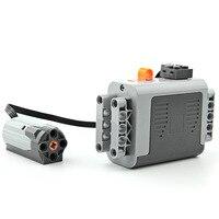 Technic Power Functions Motor Set Building Blocks Bricks Model Kids Toys For Children Marvel Compatible Legoe