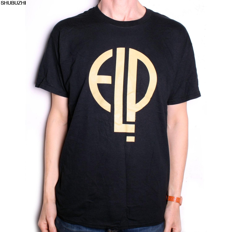 Emerson Lake & Palmer T Shirt-klassische Logo Offizielle Prog Rock T Hemd Elp Sbz1279 Schmuck & Zubehör