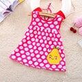 Бесплатная доставка Детские Платья Принцессы Девушки Dress 0-1years Хлопок Одежда Dress Летняя Одежда Для Девочки