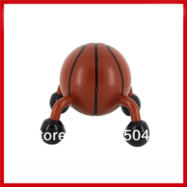Hot Selling Wireless Electric Shaking Vibration Basketball Mini Massager Head Neck Foot Full Body Massage Relaxation Travel