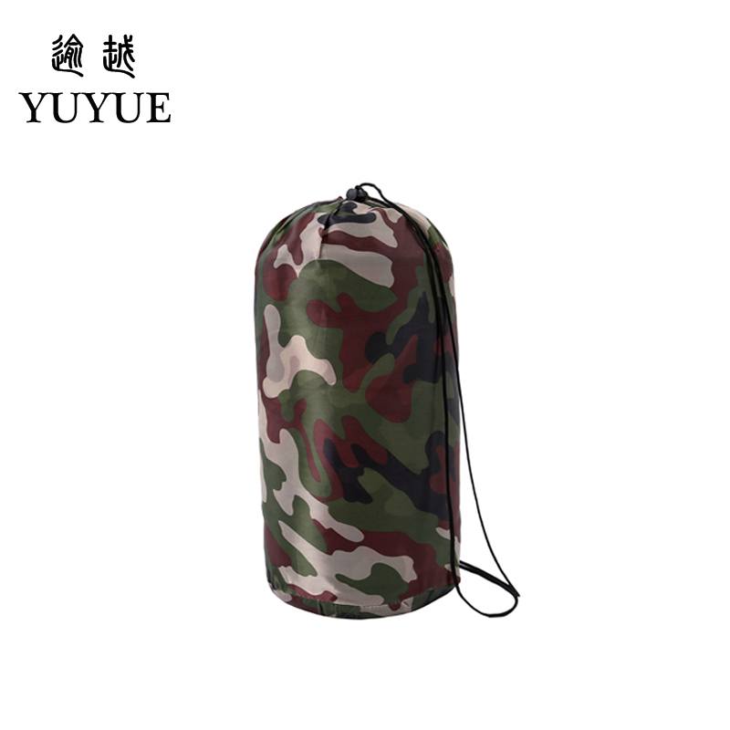 Outdoor military 3 season camouflage sleeping bag cotton for camping tent envelope type equipment for a hundred sleeping bag 3