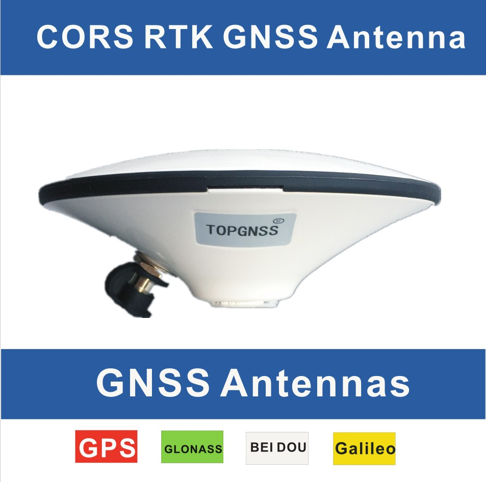 RTK system GNSS antennas, GPS Glonass Galileo Bei Dou High-Precision waterproof survey antenna, HIGH GAIN, support 3 system mode