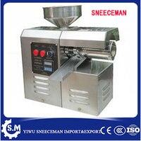 Household Electric Peanut olive Oil Press presser Machine Screw oil extractor expeller presser Machine Hot cold oil presser