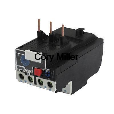 4-6Amp JR28-13 Overcurrent Motor Thermal Overload Relay jr28 13 manual reset 3 phase motor