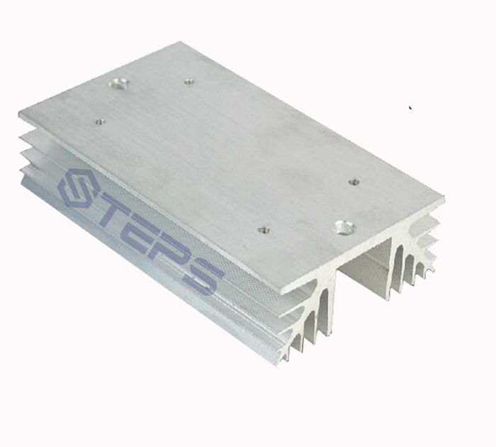 Single-phase solid state relay radiator SSR10A 25A aluminum heat sink radiating seat 150*88*35 ssr 40da single phase solid state relay white silver