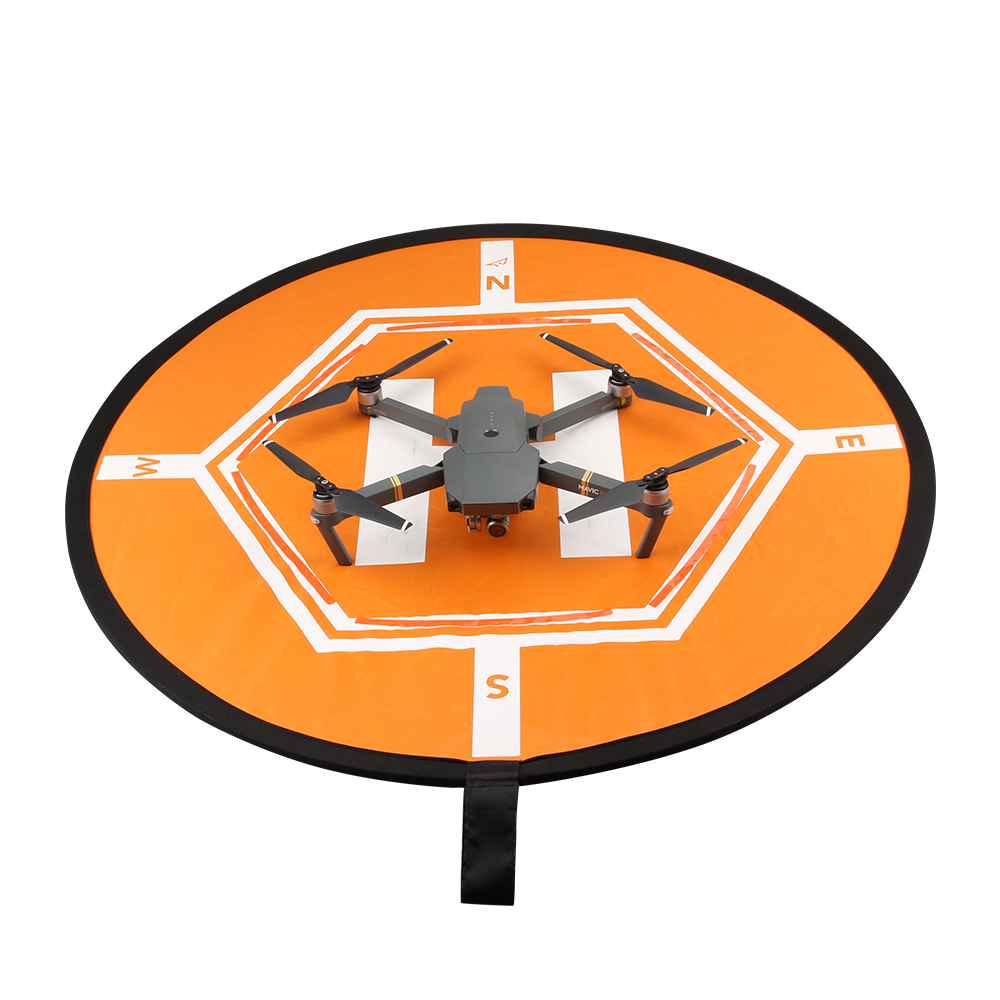 Mini Fast-folding Landing Pad Portable Parking Apron for DJI Mavic Pro/ Phantom 3/4/ Inspire 1 RC Drone Parts drone helipad