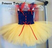 0-4Year Schneewittchen Prinzessin Kleid Baby Mädchen Cosplay Kostüm Baby Tutu Kleid Hochzeit Vestidos Kleinkind 1 Geburtstag Kleid