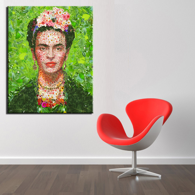 2016 продвижение неструктурированных картин горячее надувательство печати живописи фриды кало для женщины австралия стены картина на холсте