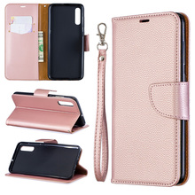 PU Leather Flip Case For Samsung Galaxy A10 A20 A30 A40 A50 A70 A10E A20E Note 10 Cover Solid Color Wallet Phone Bag Coque