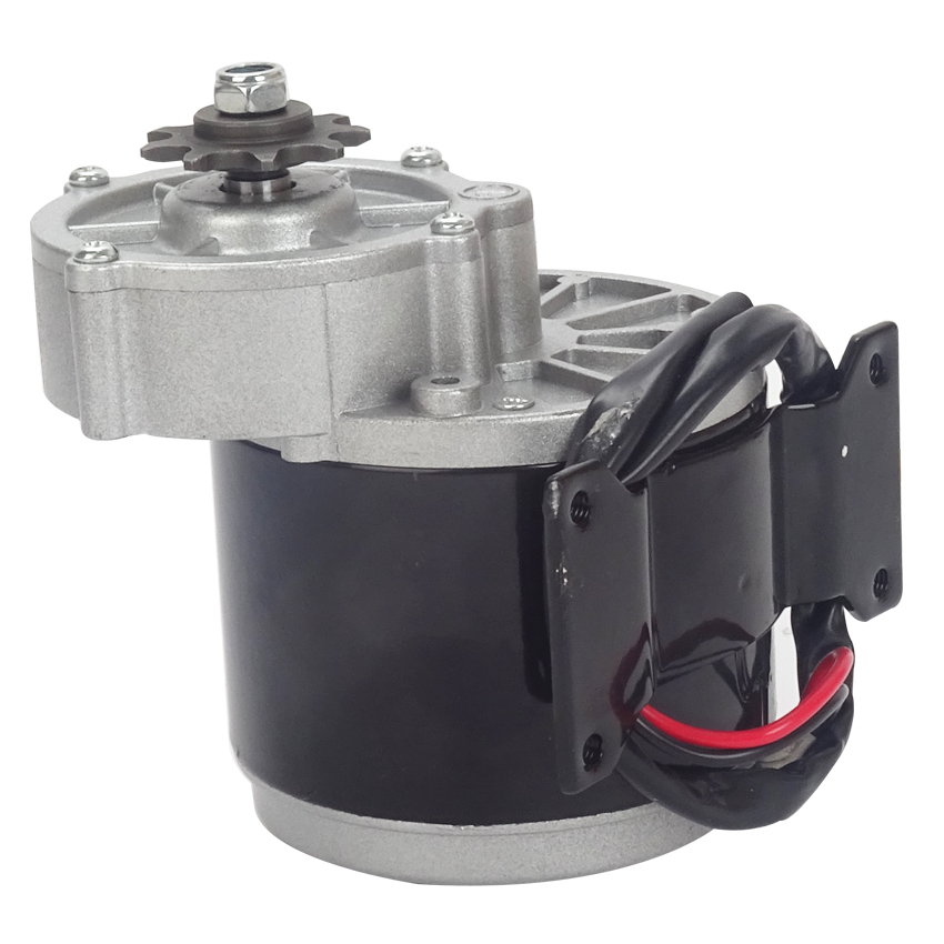 12V 150W Brushed Brushed Permanent Magnet DC Gear Motor for Electric Bicycle vehicle DIY Metal Gear Motor No load speed 190rpm