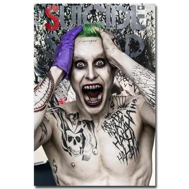 Joker Suicide Squad Art Silk Poster Print 24x36 Inches Movie