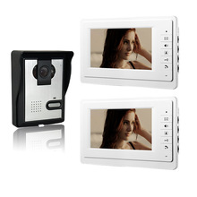Xinsulu XinSiLu 7 inch Color Intercom Wired Video Door Phone 1V2 Video citofono Home Intercom System V70F-L