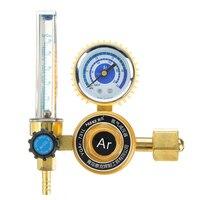 "G5/8 ""0 25mpa argônio co2 mig tig medidor de fluxo regulador de gás medidor de fluxo solda medidor de fluxo regulador de argônio redutor de pressão Reguladores de pressão     -"