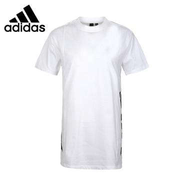 Original New Arrival  Adidas SS TEE JACQUARD Women's  T-shirts short sleeve Sportswear