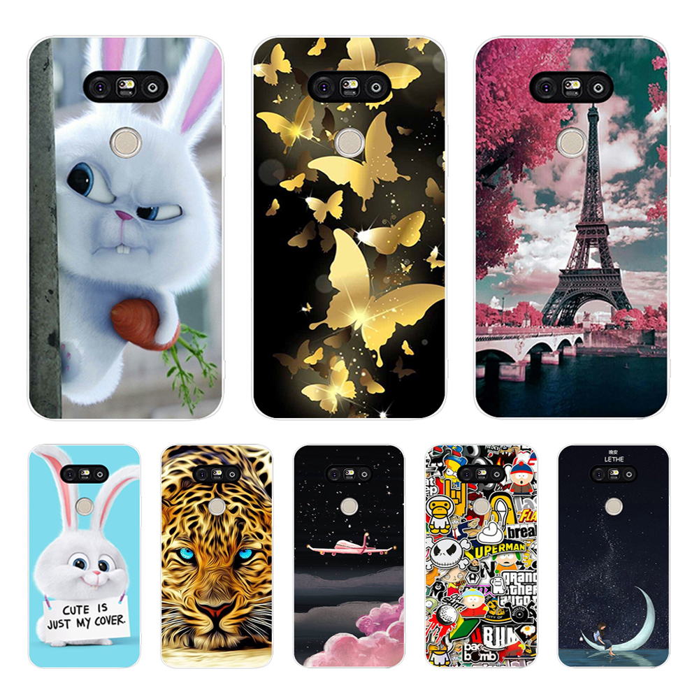 Cool Design For LG G6 G5 G4 Case 3D Soft TPU Shell For LGG6 LG G4 G5 G6 Cover Coque For LG G 6 G6 G5 G4 Beat G4S Phone Cases image