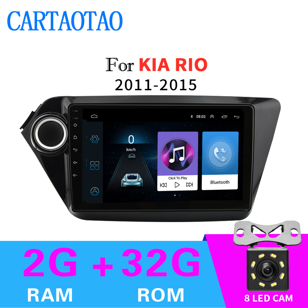 Car radio 2 din Android radio navigation for KIA RIO 2011 2012 2013 2014 2015 car radio navigation multimedia player 2GB+32GBCar radio 2 din Android radio navigation for KIA RIO 2011 2012 2013 2014 2015 car radio navigation multimedia player 2GB+32GB