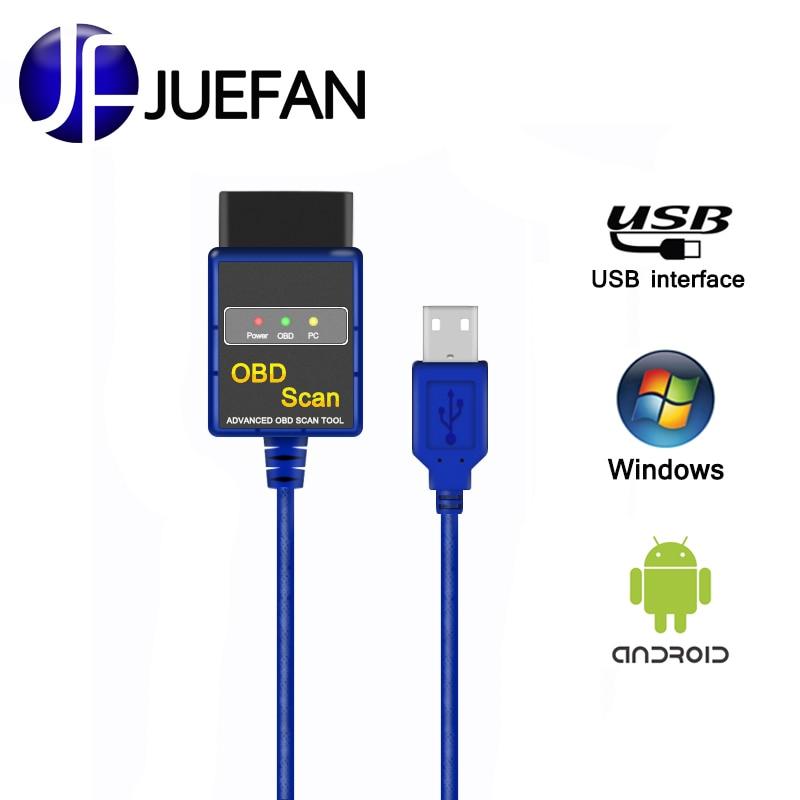 Nouveau USB De Voiture diagnostic ELM 327 outil de diagnostic obd2 Auto Diagnostic Scanner ELM327 easydiag obd 2CAN-BUS eml327 Code lecteur