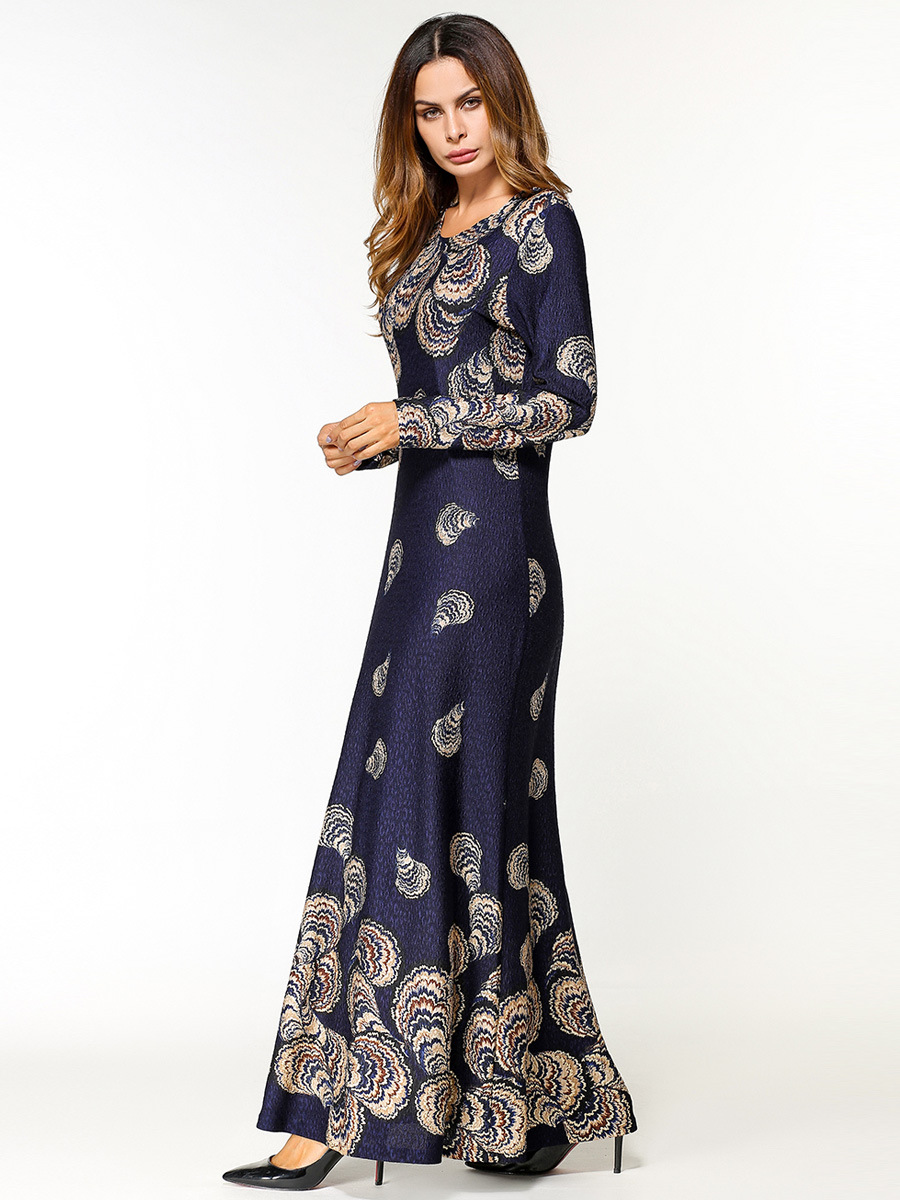 282af3c07c989  1865451  Euramerica Printed Long Dress Ong Sleeved Dubai Fashion Women  Dresses Middle East Abaya Hijabs Musulman Vestidos Online with  58.69 Piece  on ...