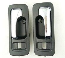 Из 2 предметов/пара интерьер внутри ручки для Honda Accord 2.0 CB7 1990 1992 1993 № 4 двери автомобиля ручка внутри дверную ручку