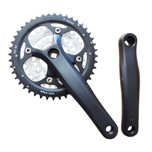 Bicycle Chainwheel and Crank MTB bike crank set 172mm 44T 27-speed discAluminum Alloy Cycling Parts Riding Accessories