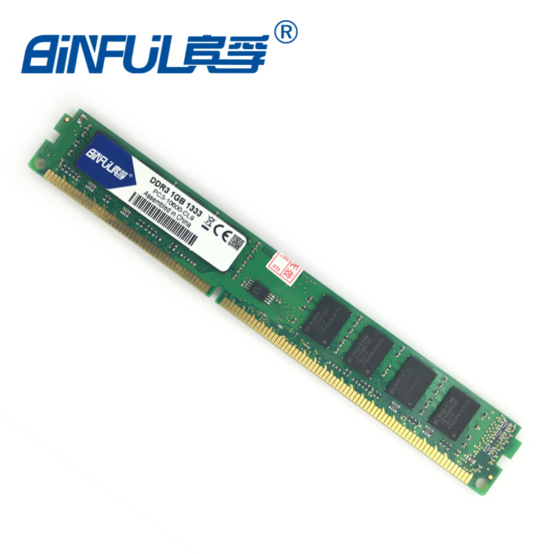 Binful Orignal New Brand DDR3 PC3 8500 1066mhz PC3 10600 1333mhz PC3 12800 1600mhz For Desktop