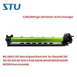 MX-500CU 1 PC nowy oryginalny zespół bębna dla Sharp MX 283 363 453 503 AR 4528 U N MX 453N m363N M453N M503N M363N M283N bęben montaż