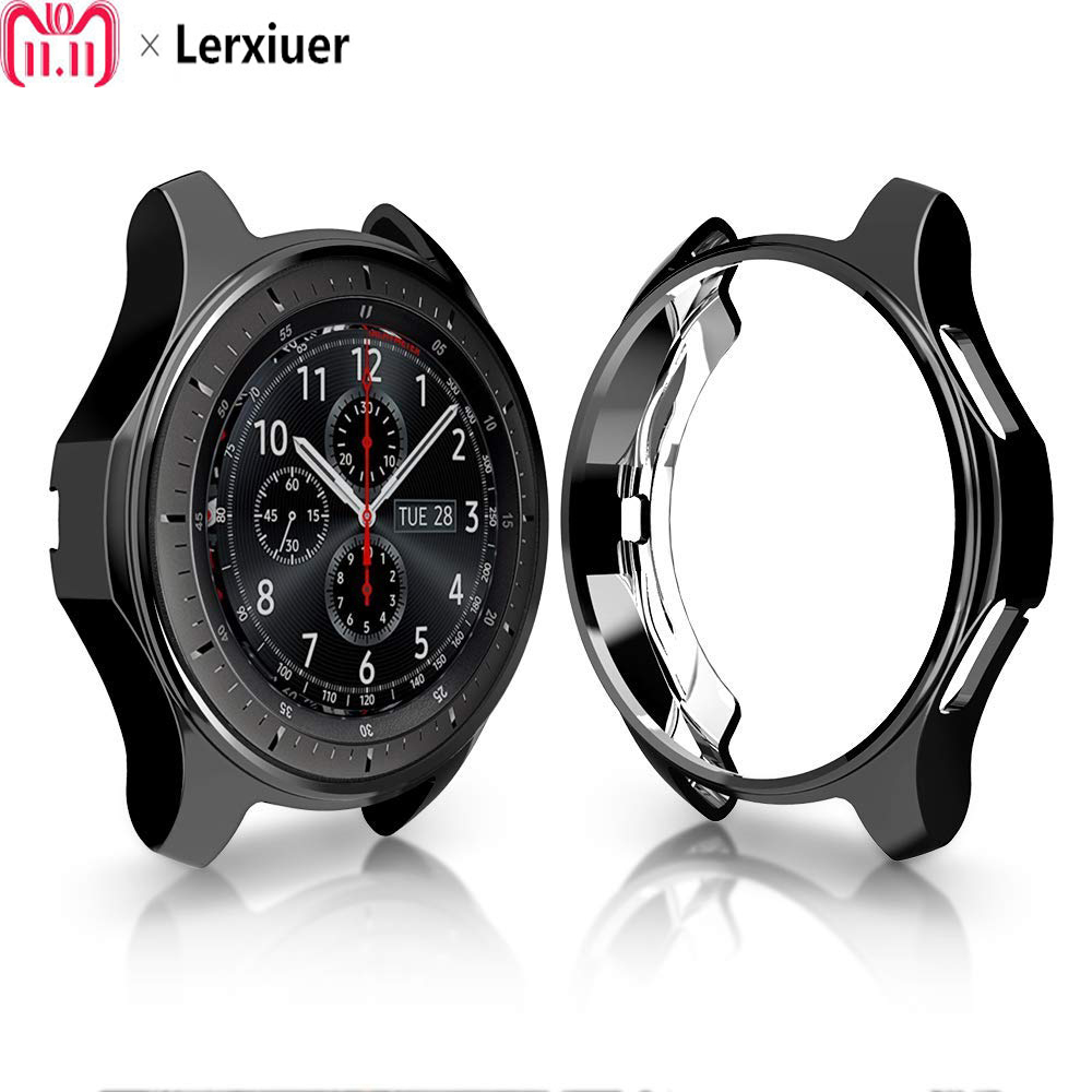 New plating TPU Protective Cases For Samsung Galaxy Watch 42mm/ 46mm Gear S3 General purpose protection Cover 22mm 20mm frameNew plating TPU Protective Cases For Samsung Galaxy Watch 42mm/ 46mm Gear S3 General purpose protection Cover 22mm 20mm frame