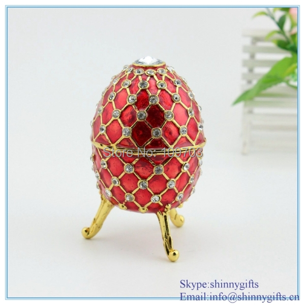Aliexpress buy red fancy musical egg shaped hinged jewelry aliexpress buy red fancy musical egg shaped hinged jewelry gift box trinket decorative design box jewelry from reliable box bag suppliers on shinny negle Images