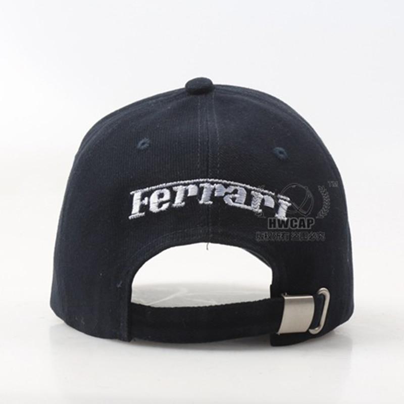 scuderia ferrari baseball cap fashion summer caps women sun hats racing brand size adjustable f1 2015 teamwear red