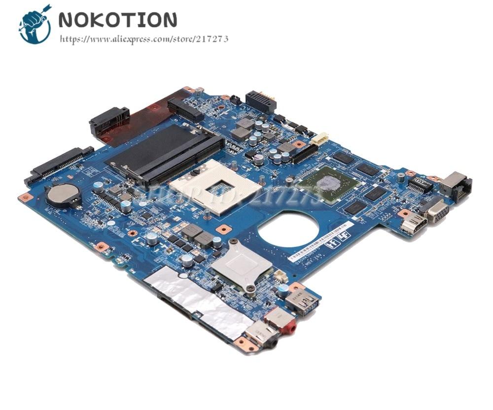 купить NOKOTION For Sony Vaio SVE151D11M SVE151 SVE15 Laptop Motherboard A1876100A A1876099A MBX-269 DA0HK5MB6F0 MAIN BOARD HD7500M 1GB по цене 5923.94 рублей