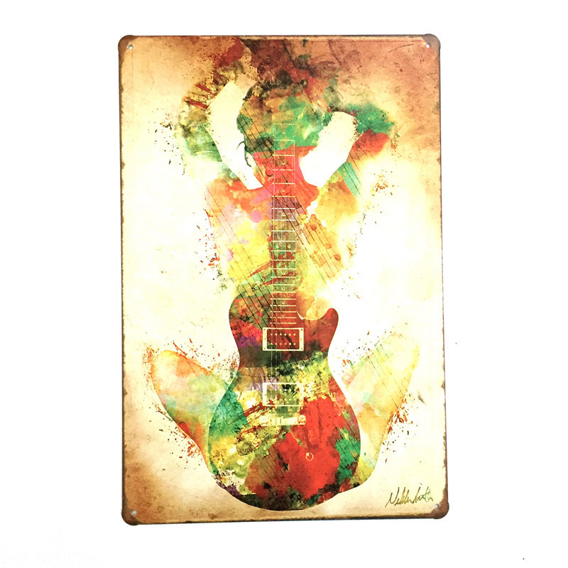 Cool Metal Wall Art Guitar Pictures Inspiration - Wall Art Design ...