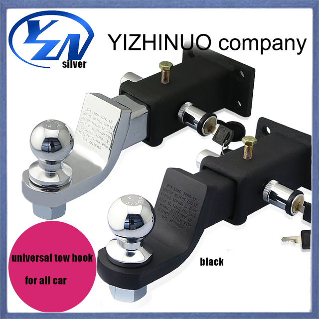 YN car tool tow hook automobile device trailer ring trailer hitch ...