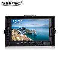 SEETEC P173 9HSD CO 17,3 Алюминий Дизайн 1920*1080 Carry на широковещательных директор монитор с 3G SDI HDMI AV YPbPr