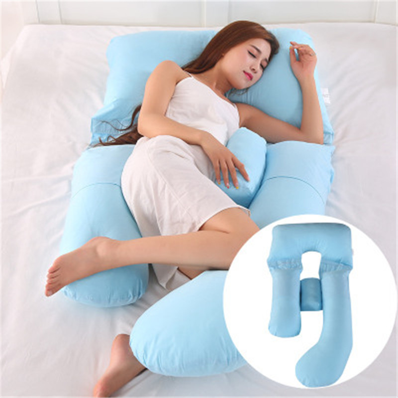 Pregnancy Pillow Multifunction Bedding Full Body Pillows For Pregnant Women Soft G-Shape Cushions Cute Washable Sleeping Pillows
