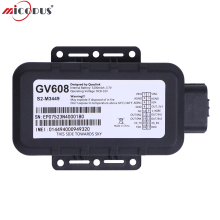 GV608 Waterproof GPS Tracker 5200mAH Battery Car Voltage Range 8V to 32V DC GPRS Vehicle Tracking Device Multiple I/O Interface