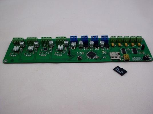 Reprappro мендель хаксли 3d принтер мельци 1284 P электронное управление панель, 3 D система печать по контролю