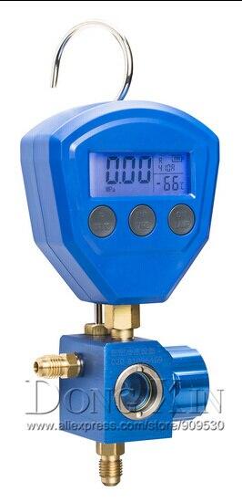 Air conditioning refrigerant table refrigerant single head pressure gauge Digital refrigerant table HS-471A-5100 low pressure  цены